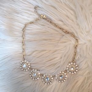 "Jcrew ""layered circle necklace"""